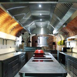 fine dining kitchen